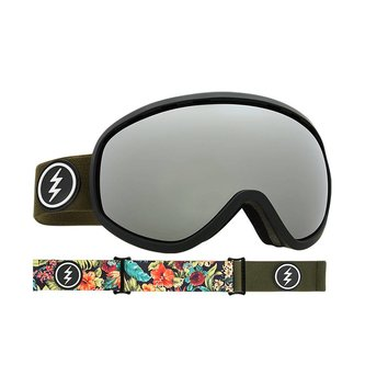 ELECTRIC MASHER GOGGLE: DARK TOURIST+BL BROSE/SILVER