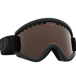 ELECTRIC EGV GOGGLE: MATTE BLACK BROSE