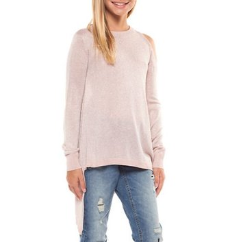 DEX JEANS L/SLV ASYMMETRICAL SWEATER