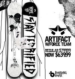 ROME SNOWBOARDS ARTIFACT WITH FORCE TEAM