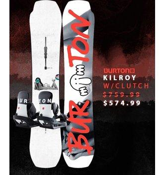 BURTON SNOWBOARDS KILROY PROCESS W/ CLUTCH