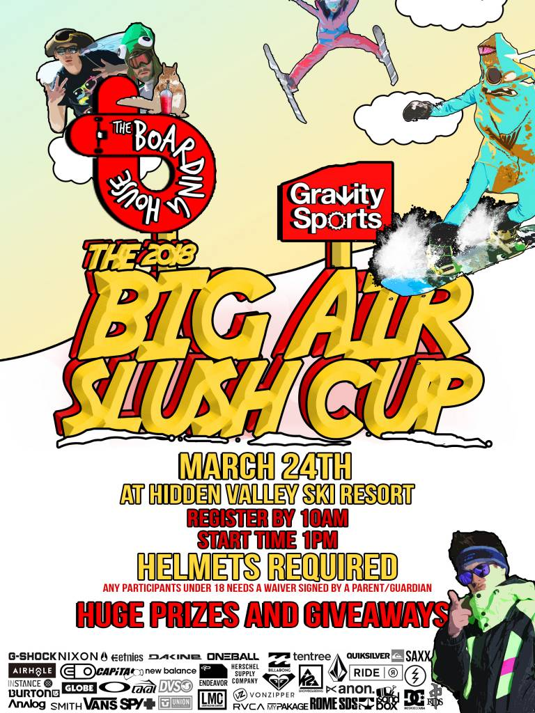 BIG AIR AND SLUSH CUP 2018