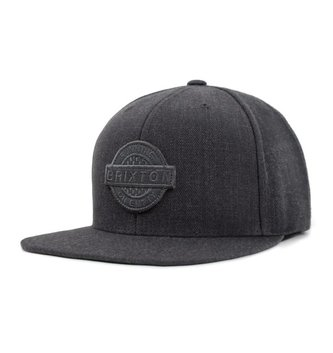 BRIXTON SPEEDWAY SNAPBACK CHARCOAL HEATHER