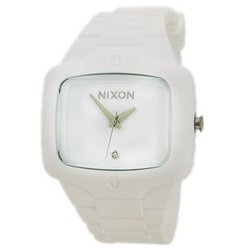 NIXON WATCHES RUBBER PLAYER:WHITE