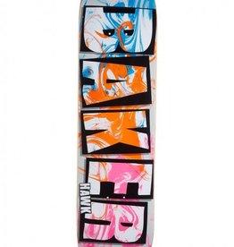 BAKER SKATEBOARDS JF Brand Name Ink Drops Deck (8.3875)