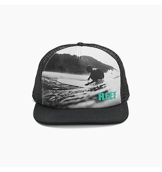 REEF REEF GOING LEFT HAT BLACK