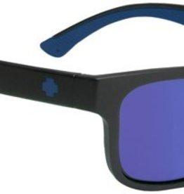 SPY OPTICS HUNT MATTE BLACK-NAVY POLARIZED DK BLUE SPECTRA