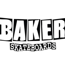 BAKER SKATEBOARDS Brand Logo Sticker Small