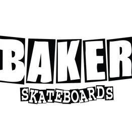 BAKER SKATEBOARDS Brand Logo Sticker Small
