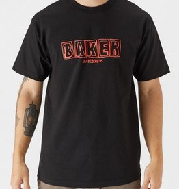 BAKER SKATEBOARDS Colored Pencil Tee/Black