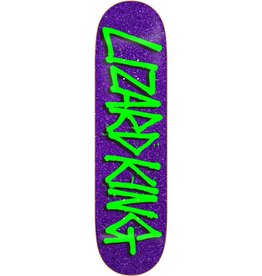 DEATHWISH SKATEBOARDS LK GANG NAME PUR GLITTER 8.125