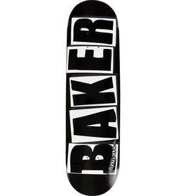 BAKER SKATEBOARDS BRAND LOGO WHITE 8.25