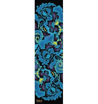 BLIND SKATEBOARDS BLD-Cosmic Blacklight Grip Blue