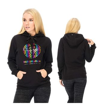 Red Dragon Apparel RDS WOMENS HOOD RAINBOW