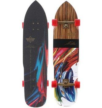 "DUS-Olson Longboard 36.9"" Kryptonic Red"