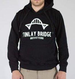 FINLAY BRIDGE OUTFITTERS FINLAY BRIDGE BLACK HOODIE