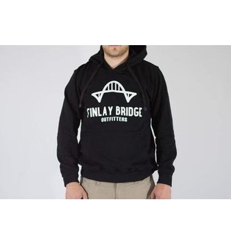 FINLAY BRIDGE OUTFITTERS FINLAY BRIDGE BLACK HOODIE