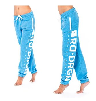 Red Dragon Apparel WOMENS SWEATPANT SIDE GO