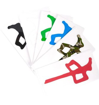 Red Dragon Apparel RDS DIECUT STICKERS 12 IN
