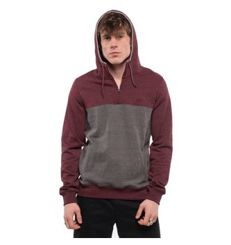 ELEMENT SKATEBOARDS MERIDIAN 1/4 ZIP M607GM14