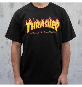 THRASHER MAGAZINE THR T-SHIRT FLAME