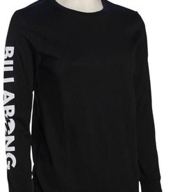 BILLABONG WOMENS LEGACY L/S TEE