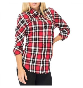 Red Dragon Apparel RDS WOMENS L/S BUTTON UP RUTH