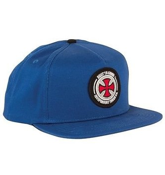 INDEPENDENT TRUCK CO. INDEPENDENT SNAPBACK BTG PATCH