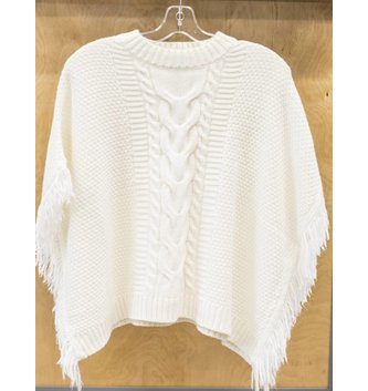DEX JEANS CABLE PONCHO