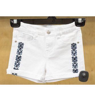 DEX JEANS SIDE EMBROIDERED SHORT