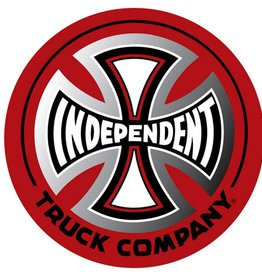 INDEPENDENT TRUCK CO. INDEPENDENT DECAL O.G.B.C. 1.5in