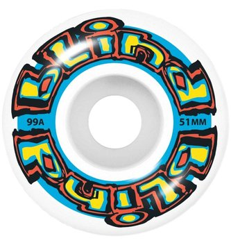 BLIND SKATEBOARDS BLD-OG Stretch Wheel White/Blue