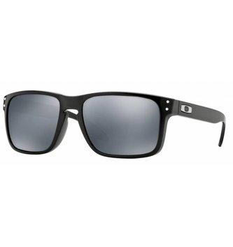 OAKLEY 9102E155 : Holbrook Polished Black w/ PRIZM Black