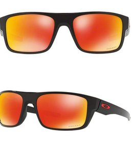 OAKLEY 93671660 : Drop Point Polished Black w/ PRIZM Ruby