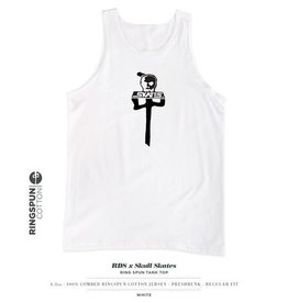Red Dragon Apparel RDS X SKULL SKATES TANK