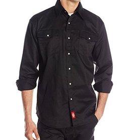 DICKIES Long Sleeve Snap Front Work Shirt Item 1221