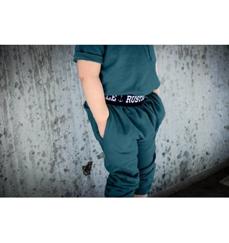 RUSTIC PICKLE Drop-Crotch Joggers 2