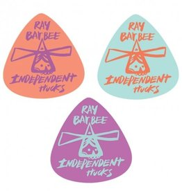 INDEPENDENT TRUCK CO. INDEPENDENT GUITAR PICKS RAY BARBEE