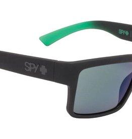 SPY OPTICS MONTANA SOFT MATTE BLACK/GREEN FADE - HAPPY GRAY G
