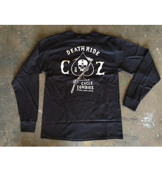 CYCLE ZOMBIES DEATH RIDE L/S
