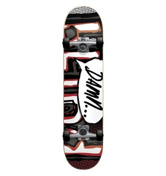 BLIND SKATEBOARDS BLD-OG Damn Bubble FP Sft Whl Charcoal/Red