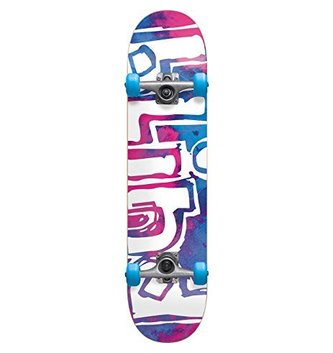 BLIND SKATEBOARDS BLD-OG Water Color FP Comp Magenta/Cyan