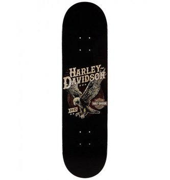 DARKSTAR SKATEBOARDS DST-Harley-Davidson Flight H Black