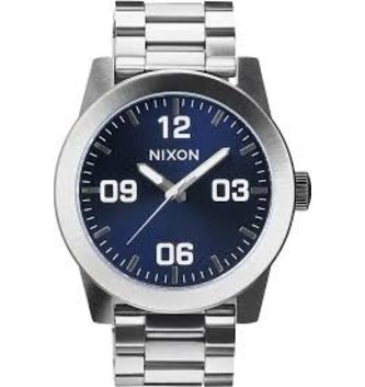 NIXON WATCHES CORPORAL SS: BLUE SUNRAY