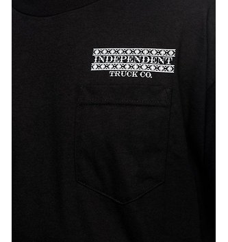 INDEPENDENT TRUCK CO. INDEPENDENT POCKET T-SHIRT BOARDER