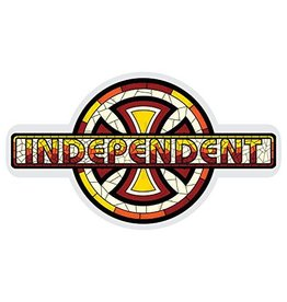 INDEPENDENT TRUCK CO. INDEPENDENT DECAL CHURCH