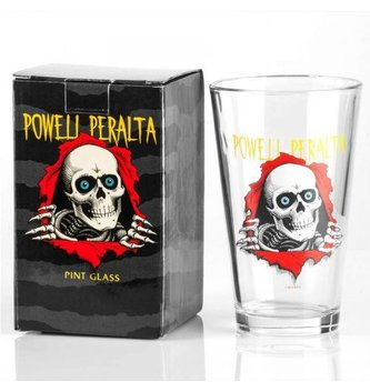 POWELL POWELL PERALTA - RIPPER PINT GLASS