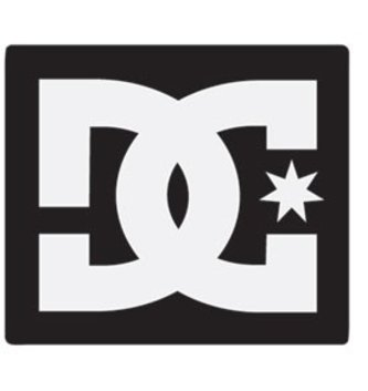 DC FOOTWEAR DC STAR STICKER