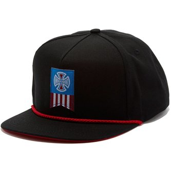 INDEPENDENT TRUCK CO. INDEPENDENT SNAPBACK LABEL CROSS