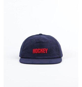 HOCKEY CORDUROY LOGO HAT
